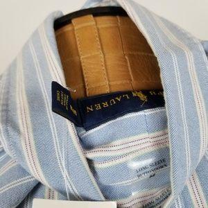 Ralph Lauren Shirts - *SOLD*NWT Ralph Lauren Striped Button Down Shirt M